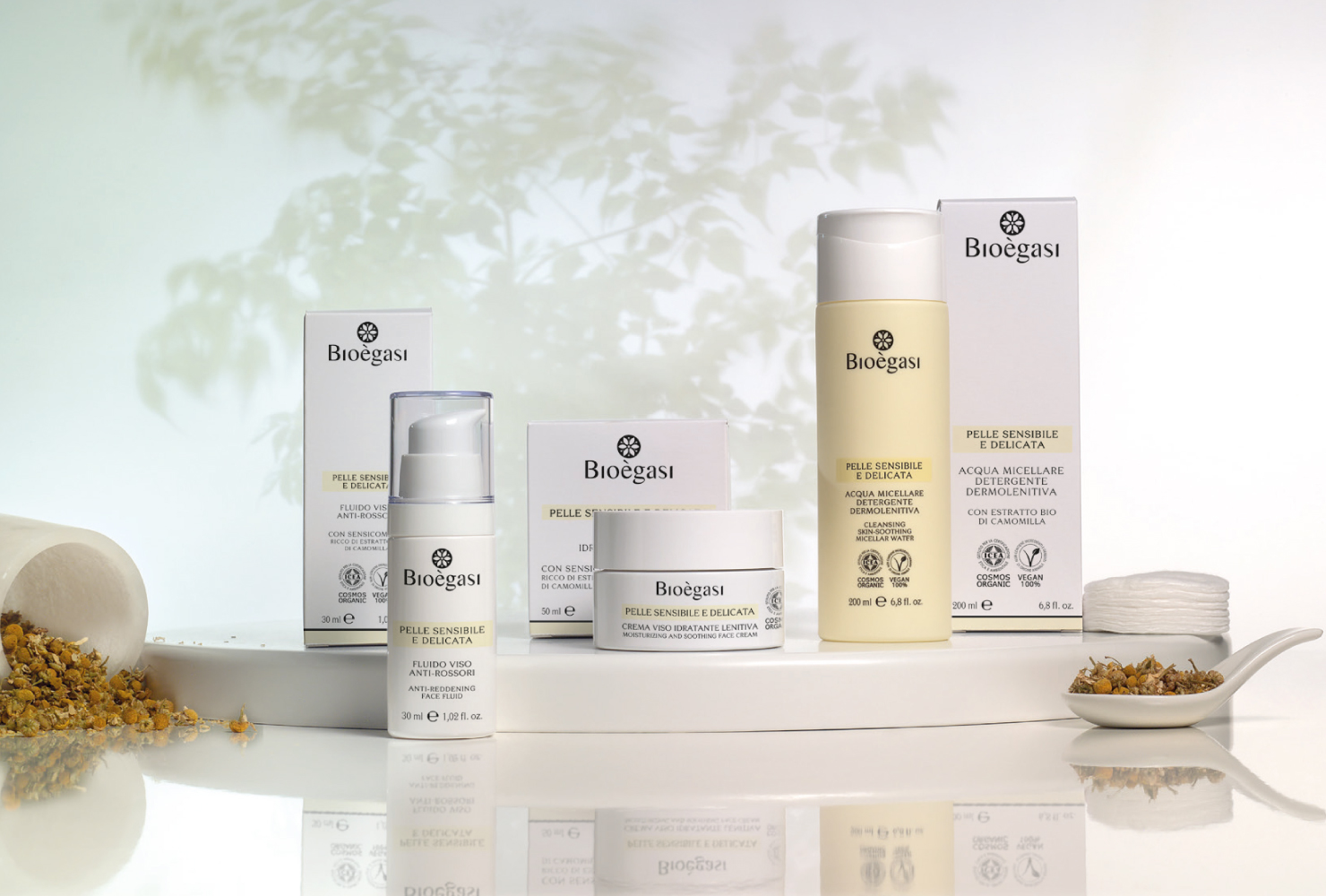 prodotti per pelle sensibile e delicata